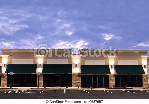 nuevo, comercial, espacio - csp0687957