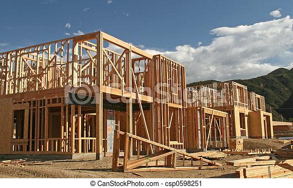 Nueva construcción casera - csp0598251