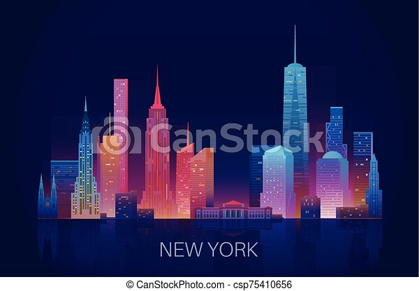nuevo, contorno, york - csp75410656