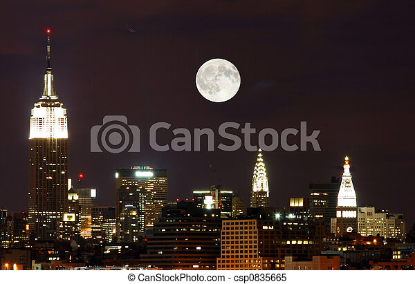 nuevo, contorno, york, th, ciudad - csp0835665