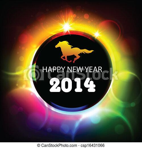 Feliz Año 2014 - csp16431066