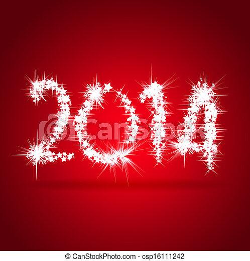 Feliz año nuevo 2014 - csp16111242