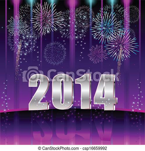 Feliz año nuevo 2014 - csp16659992