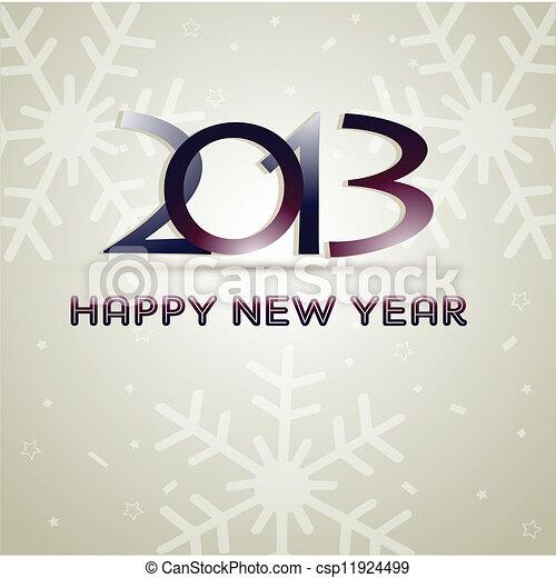 Feliz año nuevo - csp11924499