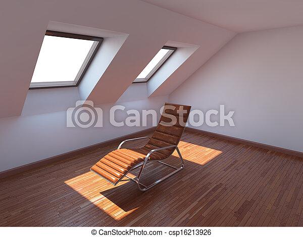 Habitación nueva vacía - csp16213926