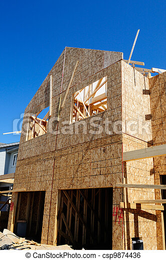 Nueva construcción casera - csp9874436