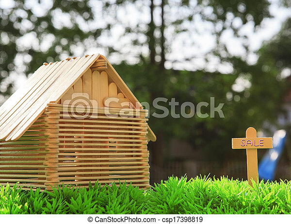 Hermosa nueva casa a la venta - csp17398819