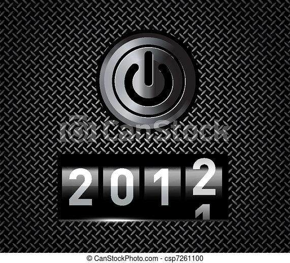 En el mostrador de año nuevo - csp7261100