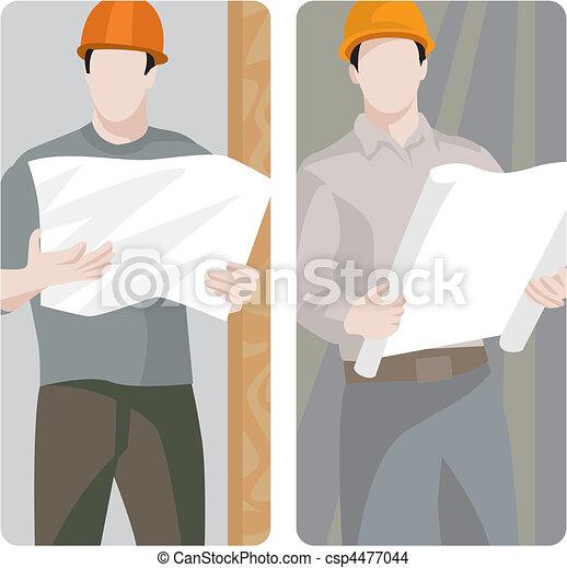 Nuevo trabajador - csp4477044
