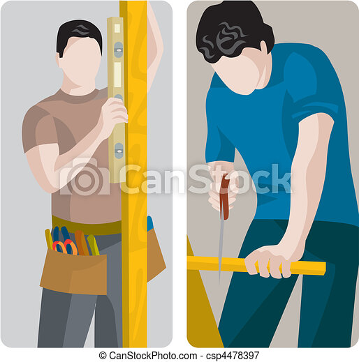 Nuevo trabajador - csp4478397