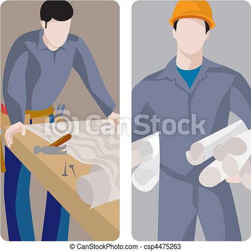 Nuevo trabajador - csp4475263
