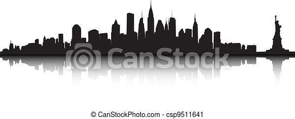 Vector de Nueva York - csp9511641