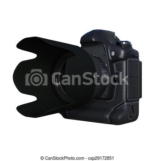 numérique, appareil-photo slr - csp29172851