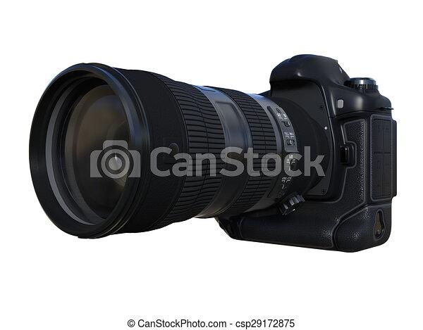 numérique, appareil-photo slr - csp29172875
