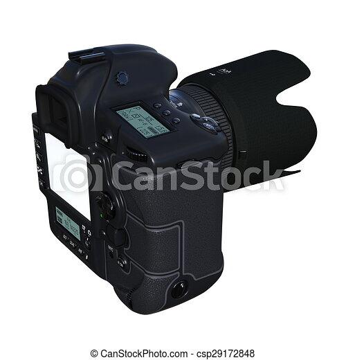 numérique, appareil-photo slr - csp29172848