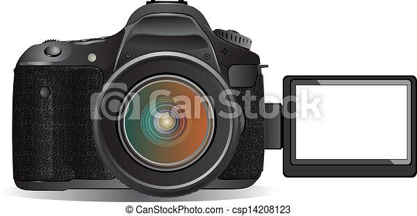 numérique, appareil-photo slr - csp14208123