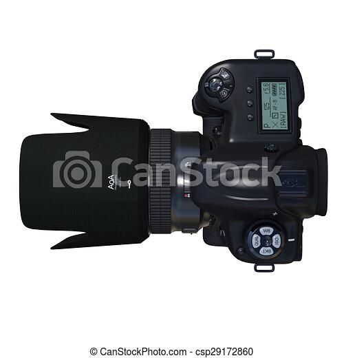 numérique, appareil-photo slr - csp29172860