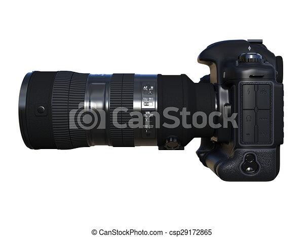 numérique, appareil-photo slr - csp29172865