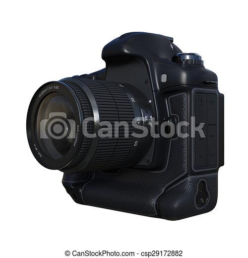 numérique, appareil-photo slr - csp29172882
