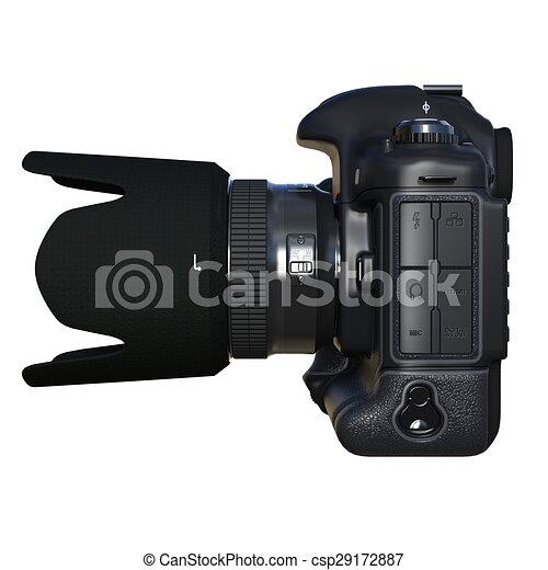 numérique, appareil-photo slr - csp29172887