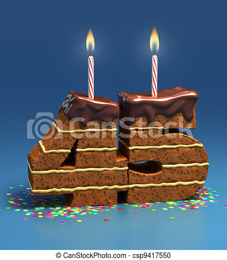 Fine Number 45 Shaped Birthday Cake Chocolate Birthday Cake Surrounded Personalised Birthday Cards Paralily Jamesorg