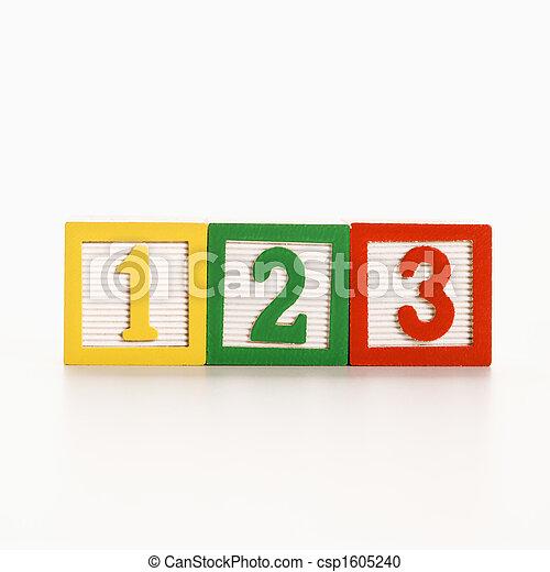 Number blocks. - csp1605240