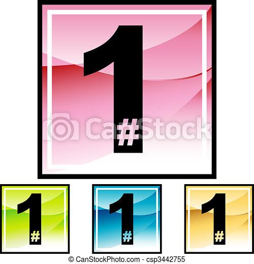 number-one - csp3442755