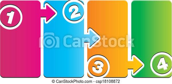 number step - 1234 - csp18108872