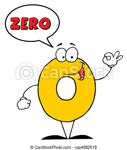 Number Zero - csp4982518