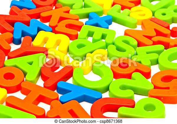 Numbers and letters - csp8671368