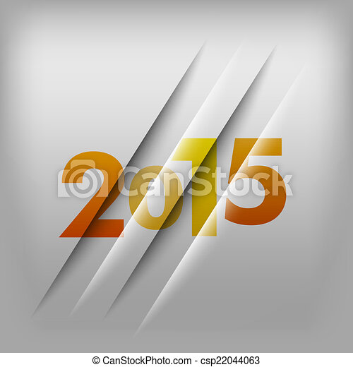 Numbers Background 2015 - csp22044063