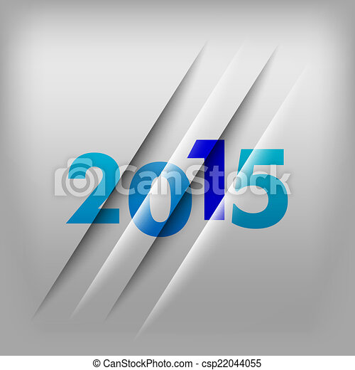 Numbers Background 2015 - csp22044055
