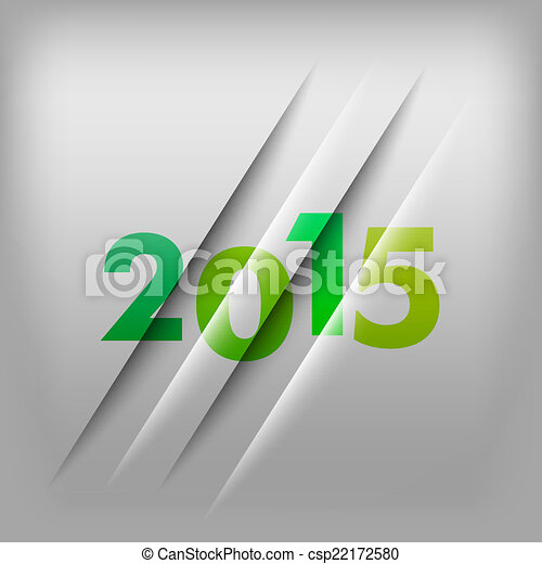 Numbers Background 2015 - csp22172580