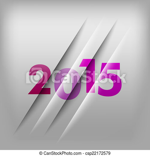 Numbers Background 2015 - csp22172579