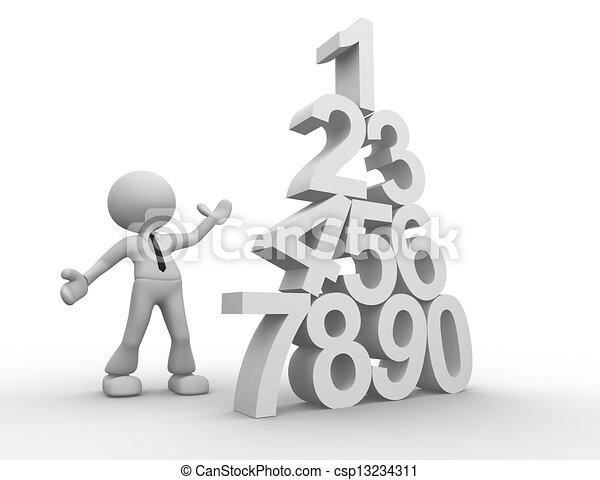 Numerals - csp13234311
