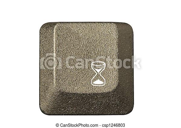 numero, simboli, chiave calcolatore, tastiera, lettera - csp1246803
