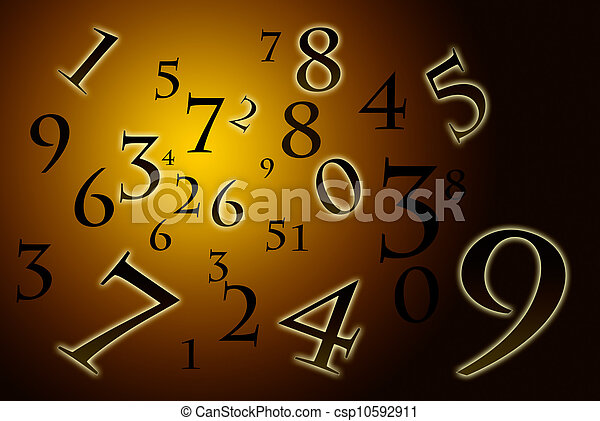 Numerology (the ancient science). - csp10592911