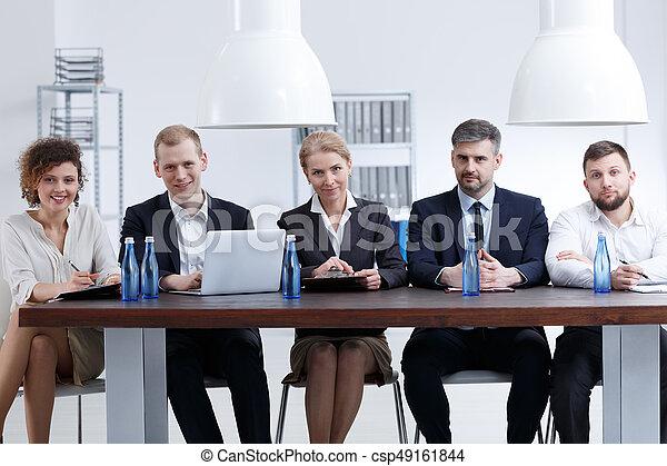Numerous recruitment committee - csp49161844