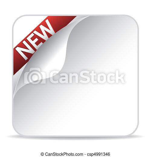 nuovo, articolo, segno - csp4991346
