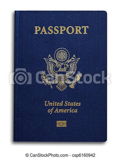 nuovo, ci, passaporto - csp6160942