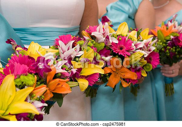 nupcial, flores - csp2475981