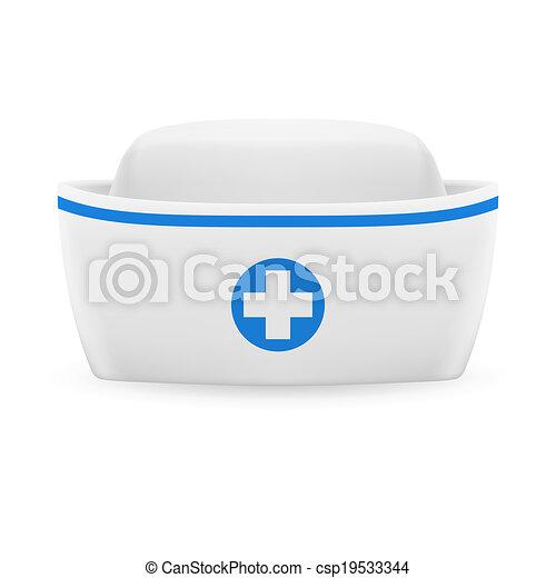 Nurse cap - csp19533344