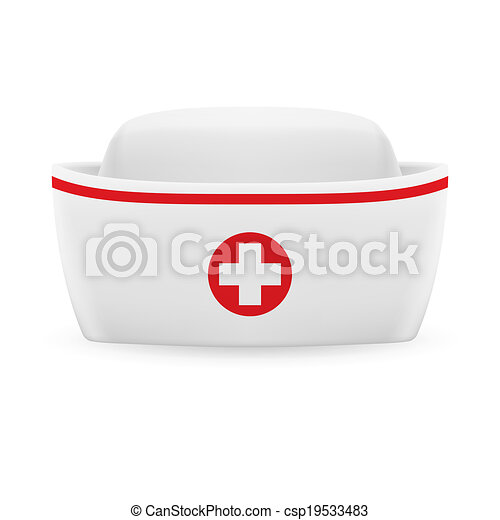 Nurse cap - csp19533483