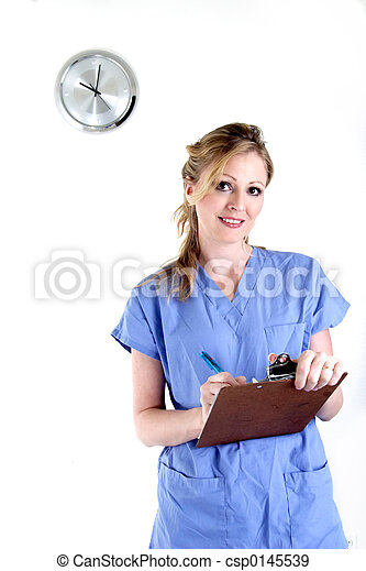 Nurse charting - csp0145539