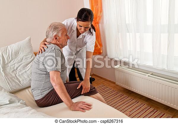 Nurse in aged care - csp6267316