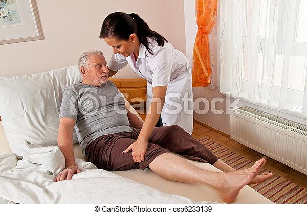 Nurse in aged care - csp6233139