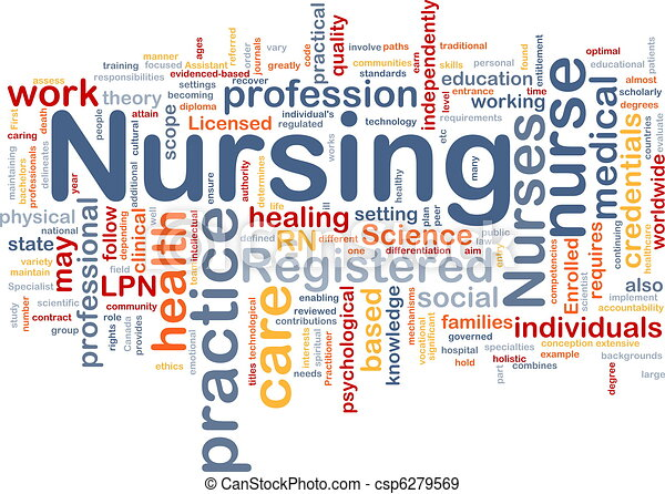 Nursing background concept - csp6279569