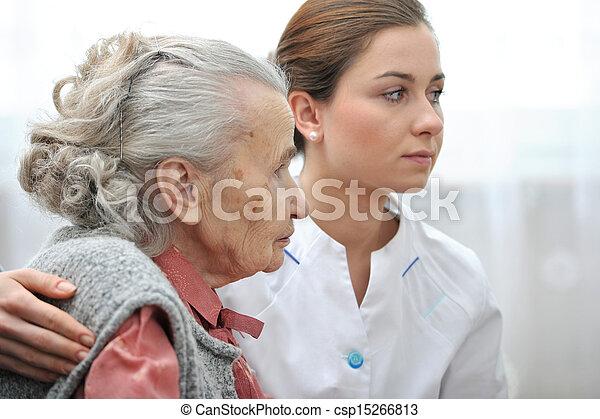 Nursing home - csp15266813