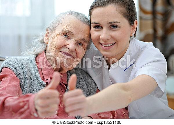 Nursing home - csp13521180