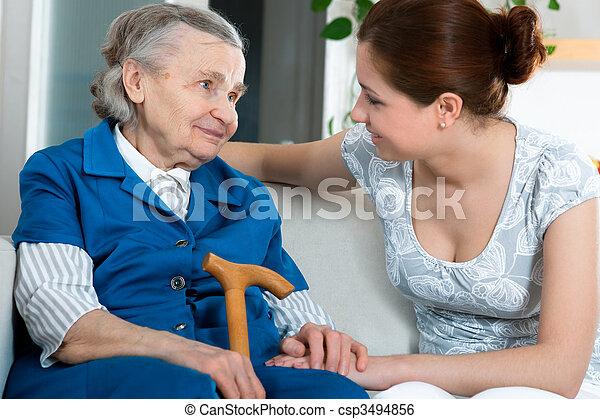 nursing home - csp3494856
